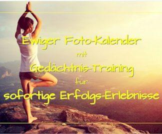 Ewiger Kalender: Deckblatt zur Variante 'Yoga-Übungen'